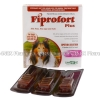 Fiprofort Plus (Fipronil/S-Methoprene) - 9.8%w/w/8.8%w/w (4.02mL x 3 Pipettes)(Extra Large dog 40-60kg)