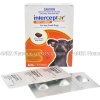 Interceptor Spectrum Tasty Brown (Milbemycin Oxime/Praziquantel) - 2.3mg/22.8mg (6 Tablets)(<4kg very small Dog)