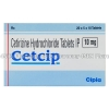 Cetcip (Cetrizine Hydrochloride)