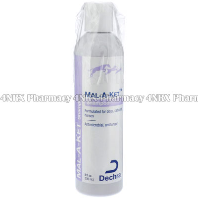 Mal-A-Ket Shampoo (Chlorhexidine Gluconate/Ketoconazole/Acetic Acid)