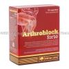 Arthroblock forte (Glucosamine Sulphate 2KCL/Chondroitin Sulfate/Hyaluronic Acid/Boswelia Serrata Extract/Zingiber Extract/Vitamin C/Albion Manganese Amino Acid Chelate) - 500mg/100mg/25mg/50mg/50mg/30mg/6.25mg (60 Capsules)