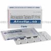 Atorlip (Atorvastatin Calcium) - 10mg (15 Tablets)