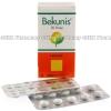 Bekunis (Sennosides) - 20mg (30 Sugar Coated Tablets)