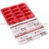 Chela-Ferr Forte (Iron Bis-Glycinate/Iron/Folic Acid/Vitamin C/Vitamin B6/Vitamin B12) - 140mg/28mg/400mcg/40mg/1.4mg/2.5mcg (30 Capsules)