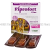 Fiprofort Plus (Fipronil/S-Methoprene) - 9.8%w/w/8.8%w/w (2.68mL x 3 Pipettes)(Large dog 20-40kg)