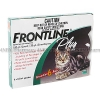 Frontline Plus for Cats (Fipronil/S-Methoprene) - 9.8%/11.8% (0.5mL x 6)
