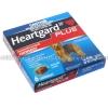 Heartgard Plus (Ivermectin/Pyrantel) - 68mcg/57mg (6 ChewablesTablets) (Blue)