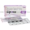 Lipvas (Atorvastatin Calcium) - 10mg (10 Tablets)