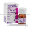 Nilstat Oral Drops (Nystatin) - 100,000 I.U. (24mL Bottle)