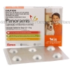 Panoramis (Spinosad/Milbemycin Oxime) - 270mg/4.5mg (6 Chewable Tablets)