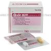 QVIR Kit (Atazanavir/Ritonavir/Tenofovir Disoproxil Fumarate/Emtricitabine) - 300mg/100mg/300mg/200mg (2 Tablets)