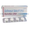 Synclar-250 (Clarithromycin) - 250mg (4 Tablets)