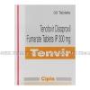 Tenvir (Tenofovir Disoproxil Fumarate) - 300mg (30 Tablets)